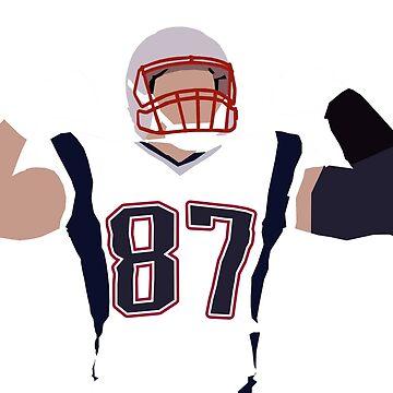 Gronkowski Superbowl Patriots by epicavea