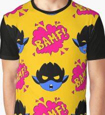 BAMFS pattern Graphic T-Shirt