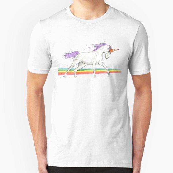 I Wanna Be A Unicorn 2 Slim Fit T-Shirt