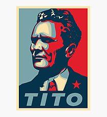 Josip Broz Tito Photographic Print