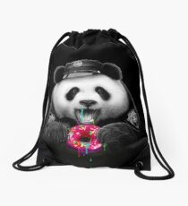 DONUT COP Drawstring Bag