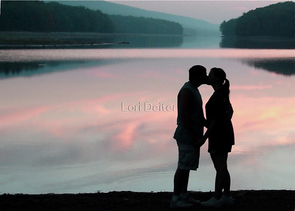 LOVER'S SUNSET by Lori Deiter