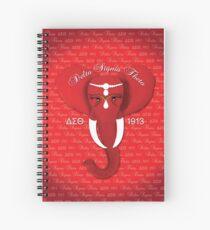 Delta Sigma Theta Spiral Notebook