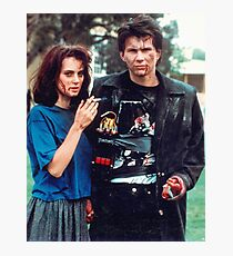 jd and veronica - heathers Photographic Print