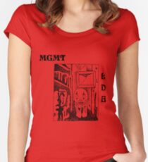 MGMT Little Dark Age Women's Fitted Scoop T-Shirt