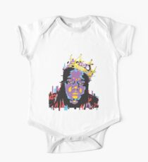 Be the illest with Biggie Smalls! Short Sleeve Baby One-Piece