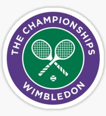 The championship Of Wimbledon Sticker