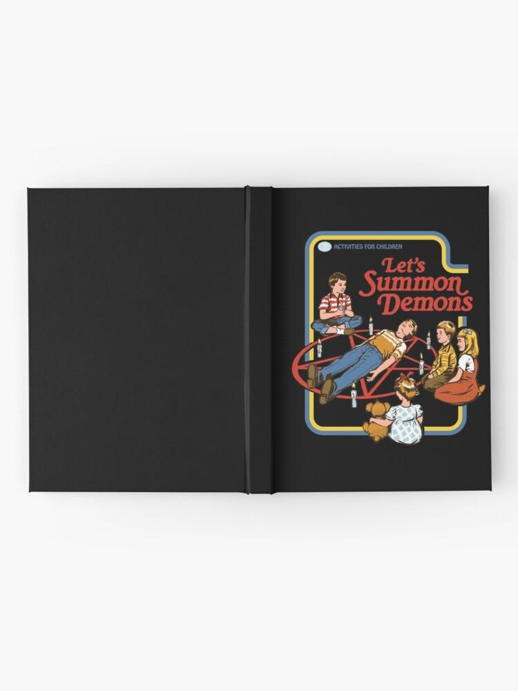 Alternate view of Let's Summon Demons Hardcover Journal