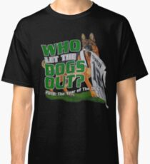Eagles Who Let The Dogs Out Superbowl Champions Classic T-Shirt