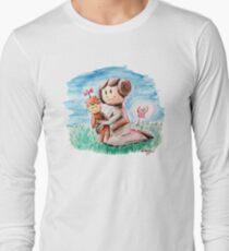 Princess Leia and Wookiee Doll Chewbacca STAR WARS fan art Long Sleeve T-Shirt