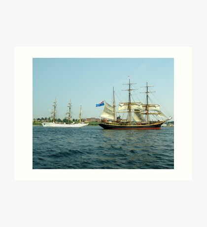 Ships That Pass... Art Print