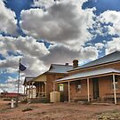 Milparinka Historic Precinct - Outback NSW Australia by Bev Woodman