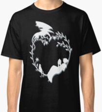 Ex Libris - White silhouette with shadow Classic T-Shirt
