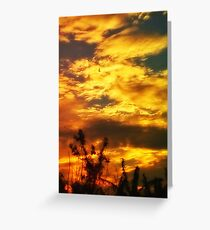 dramatic sky images Greeting Card
