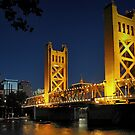 Sacramento Tower Bridge by Stuart Green