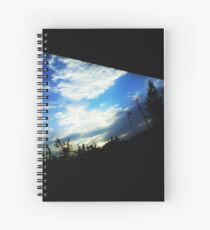dramatic sky images Spiral Notebook