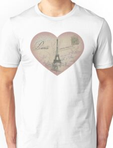 Paris in my heart Unisex T-Shirt