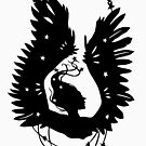 Black-Winged Angels (in black) by tanaudel