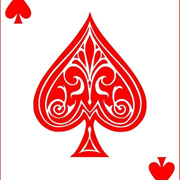 Ace of Spades (RED) by limbo