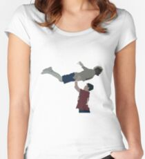 Eli Manning and Odell Beckham  Women's Fitted Scoop T-Shirt