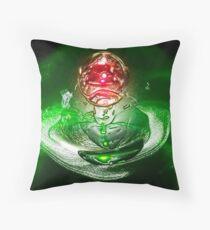 Crystal Ball Throw Pillow