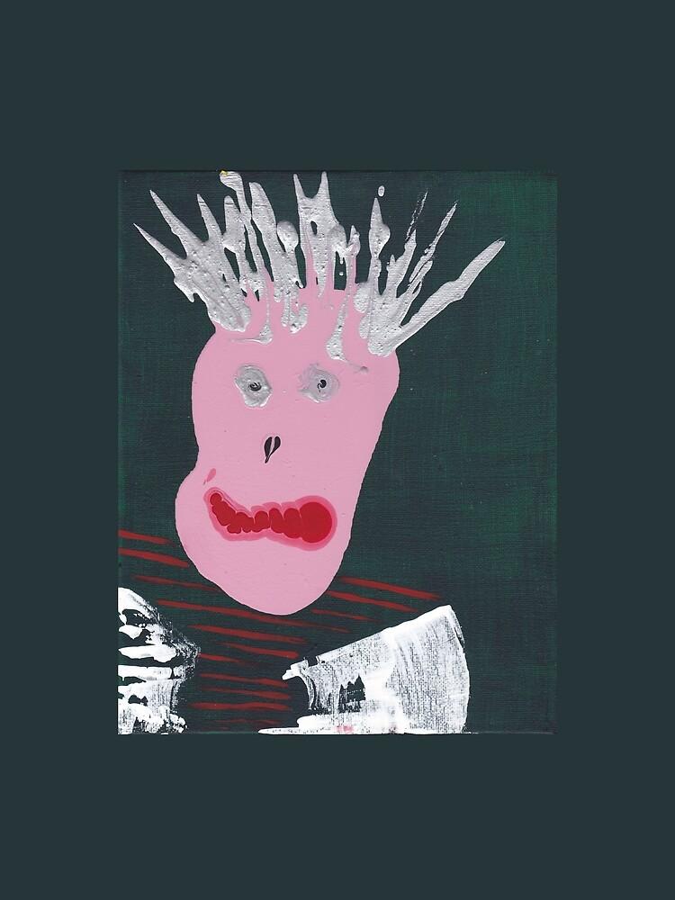 «Punk - Martin Boisvert - Faces à flaques» par martinb1962
