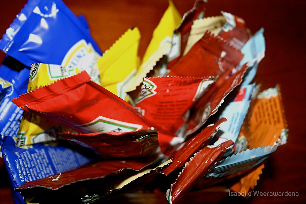 :::primary condiments::: by Isabelle Weerawardena