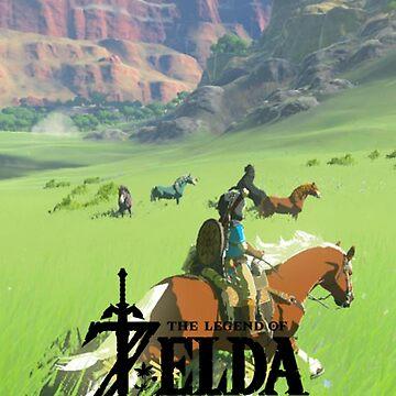 Legend of Zelda - Breath of the Wild by PantherLilyz