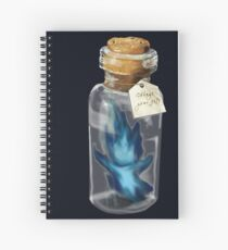 Will o' the Wisp Spiral Notebook
