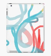Playful loops iPad Case/Skin