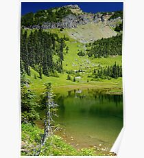 Chinook Pass Lake Poster