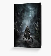 BloodBorne Cover Greeting Card
