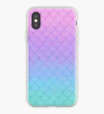 Pastel Mermaid  iPhone Case