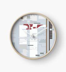 Blake's 7 Liberator - System Markings and Panels Clock