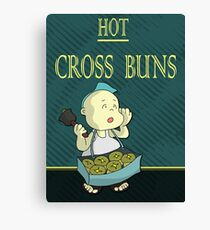 Hot Cross Buns Canvas Print