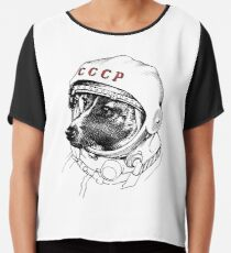 Laika, space traveler Chiffon Top