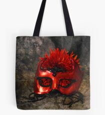 Red Masque Tote Bag
