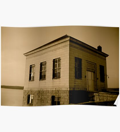 Scituate Reservoir Water Pumping Station #1 Poster