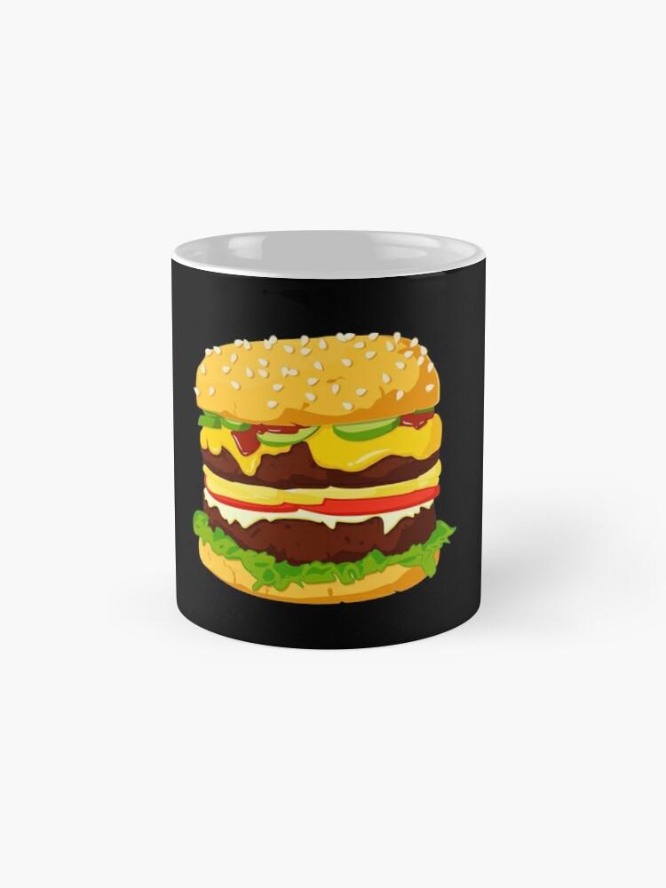 Vista alternativa de Taza Burger
