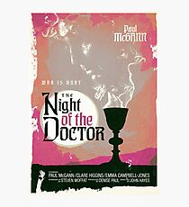 The Night of the Doctor Photographic Print