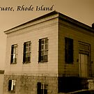 Scituate Reservoir Water Pumping Station #1 Postcard by Paul Lavallee