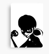 ladybug bw Canvas Print