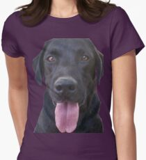 dogs, cartoon Womens Fitted T-Shirt
