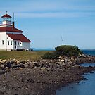 Gilbert's Cove lighthouse by Roxane Bay