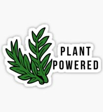Plant Powered! Sticker