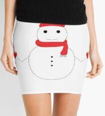 SNOWMAN Design Christmas Gift For Boys Girls Kids Grand Parents Friends  Mini Skirt