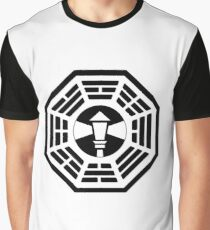 The Dharma Initiative - The Lighthouse Station Graphic T-Shirt