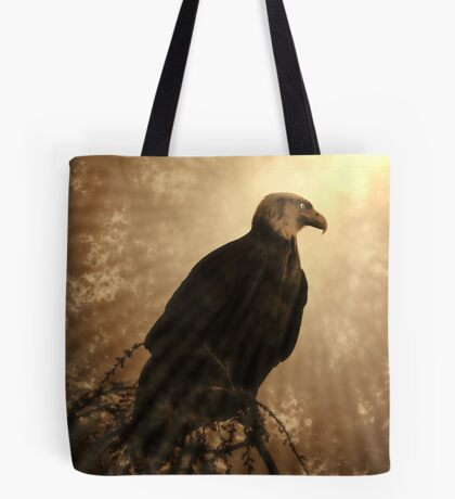 Almost Above The Clouds Tote Bag