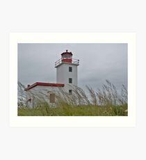 Caribou lighthouse Nova Scotia Canada Art Print