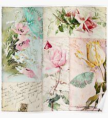 Belles Fleurs II Poster
